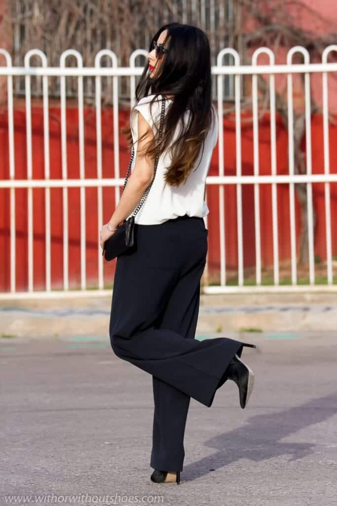 18 Stylish Shoes To Wear With Palazzo Pants To Compliment