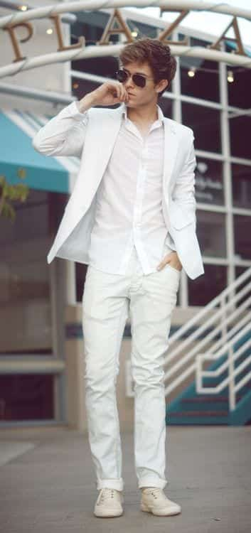 b947ddfab5b8221820dfc29561cb006e 15 Ideal White Party Outfit Ideas for Men for A Handsome Look