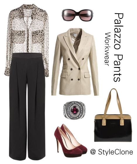 Stylish Shoes with Palazzo Pants (12)