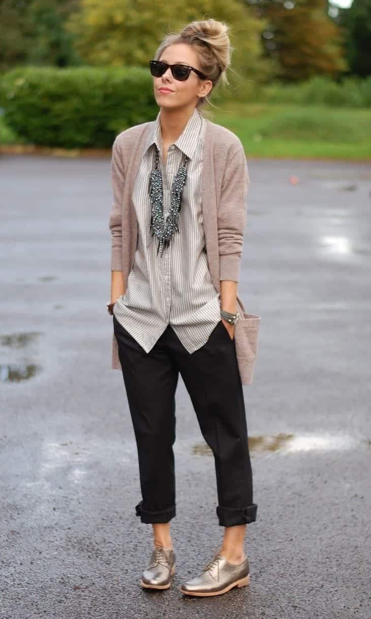 menswear inspired outfits for women (1)