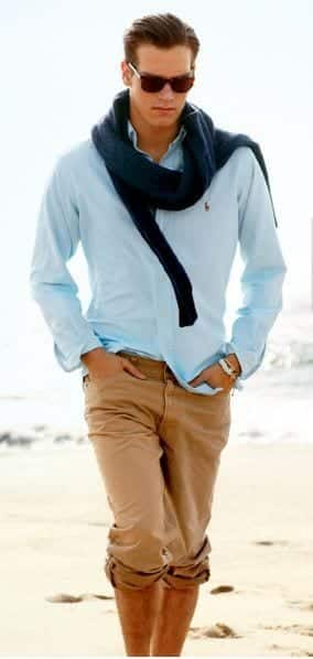 Men Khaki Pants Outfits- 30 Ideal Ways To Style Khaki Pants