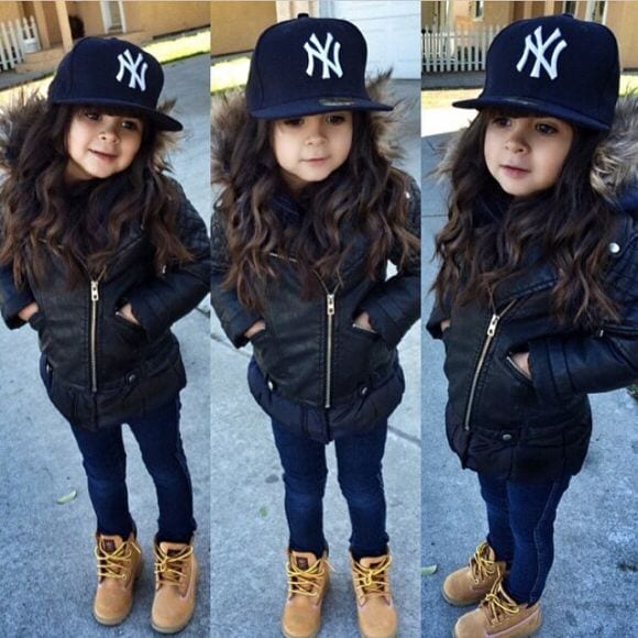 kids outfit with timberlands10