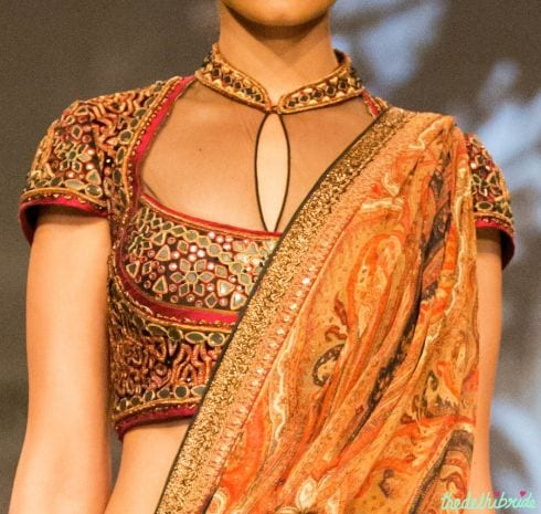 latest saree blouse design and patterns