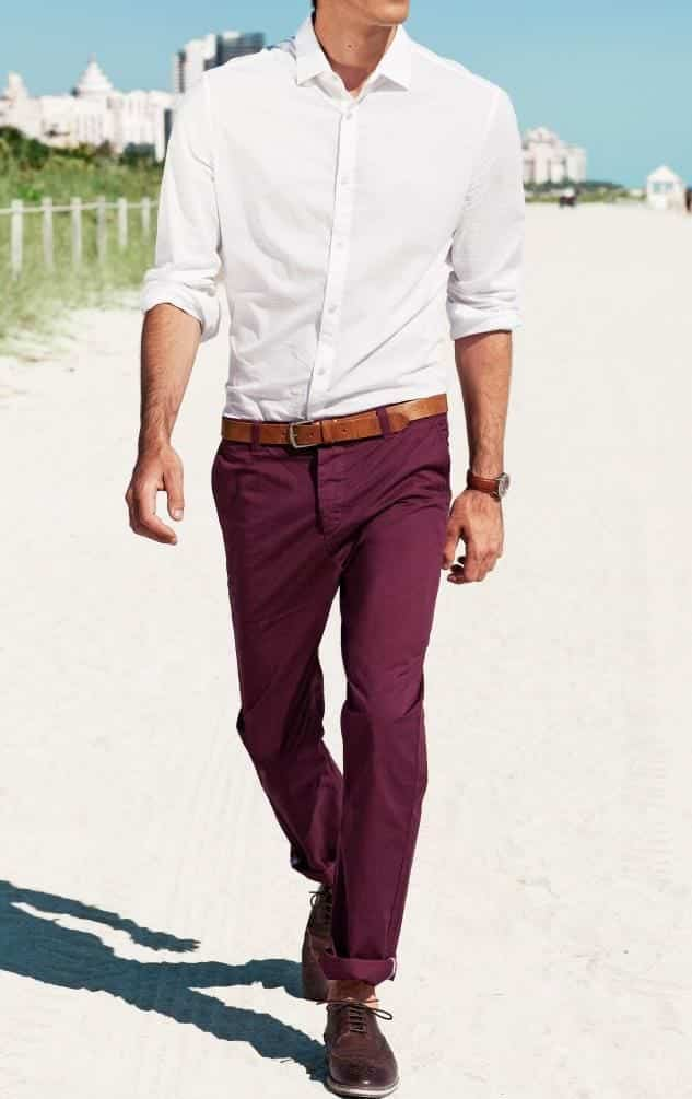 15 Best Dressing Combinations With White Shirt For Men