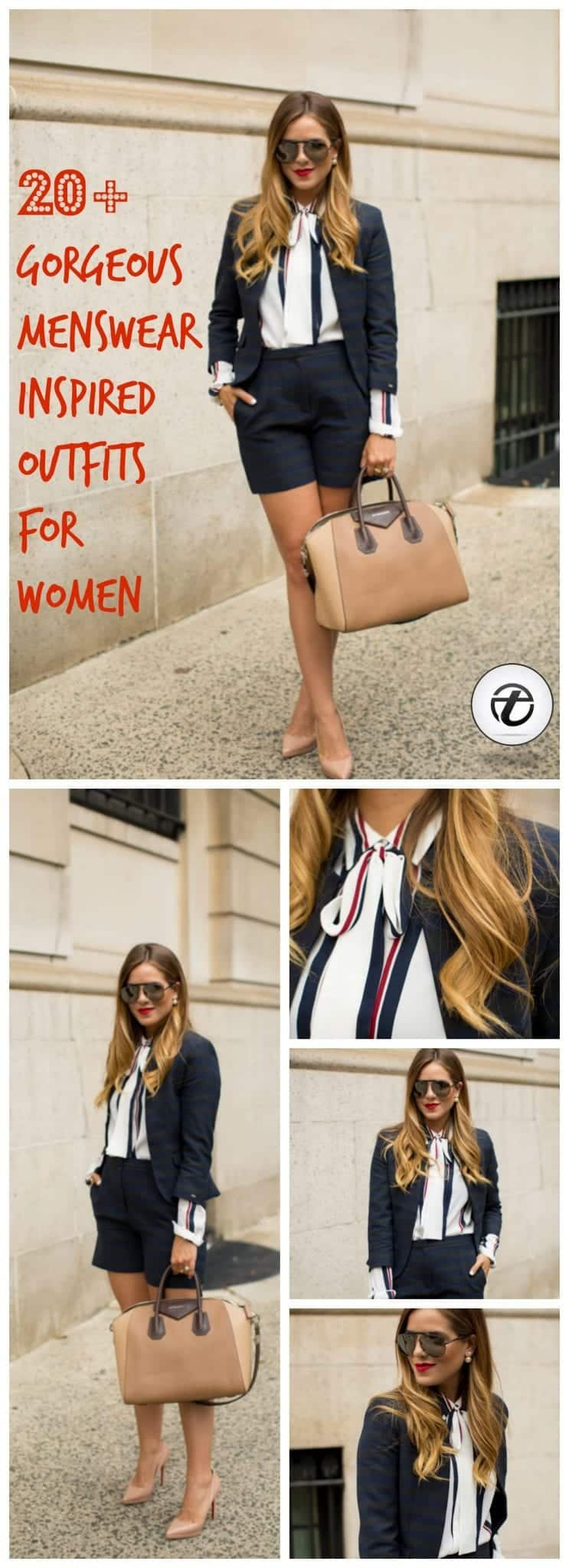 menswear-outfits-for-women-1 Menswear for Women - 20 Best Menswear Inspired Outfits Ideas