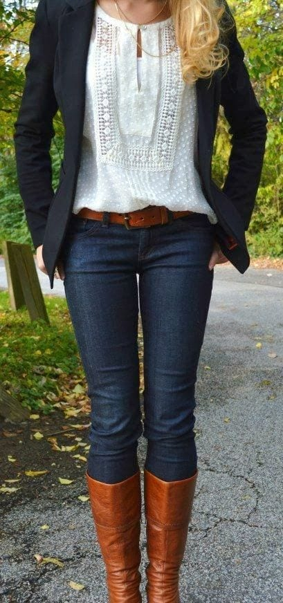 women-outfit-with-white-shirt1 17 Cute Women Outfits with White Shirt-Pairing Style Ideas