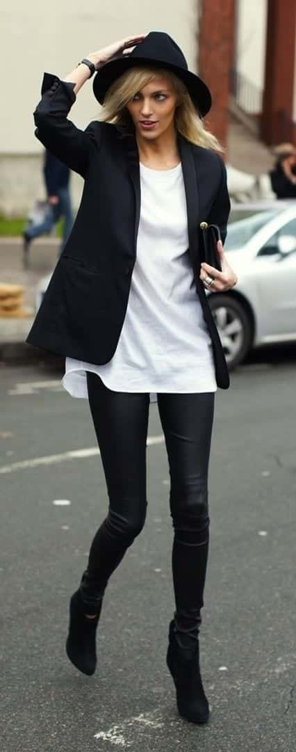 women-outfit-with-white-shirt5 17 Cute Women Outfits with White Shirt-Pairing Style Ideas