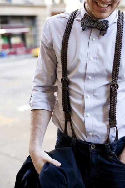 117086dfe78caaa6c0a8c09164aa2890 How to Wear Braces? 20 Best Men Outfits With Suspenders