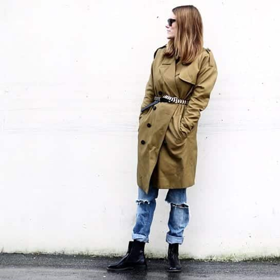 14 Trench Coat Outfits Styles-16 Chic Ways to Wear Trench Coat