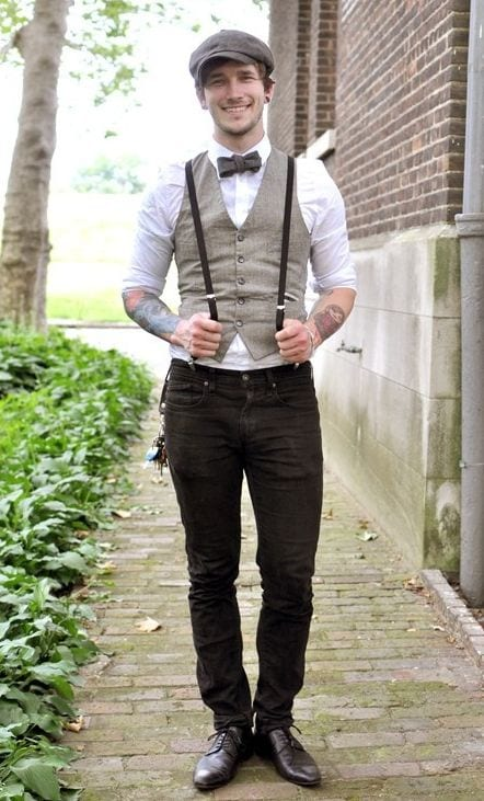men waistcoat styles 18 ways to wear waistcoat for classy look. Black Bedroom Furniture Sets. Home Design Ideas