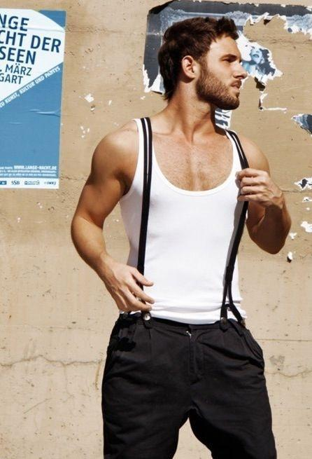 5800f87c200bcf033bcff1a98c2473d6 How to Wear Braces? 20 Best Men Outfits With Suspenders