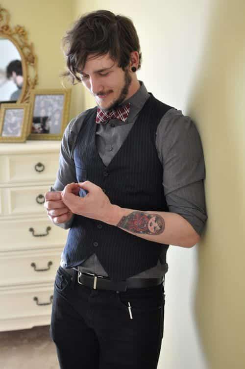 5cff70d876e2569cf2f4a606adcd2400 Men Waistcoat Styles -18 Ways to Wear Waistcoat for Classy Look