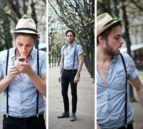 6578bfdeb9919a9d129fd1b0b29756ee-500x449 How to Wear Braces? 20 Best Men Outfits With Suspenders
