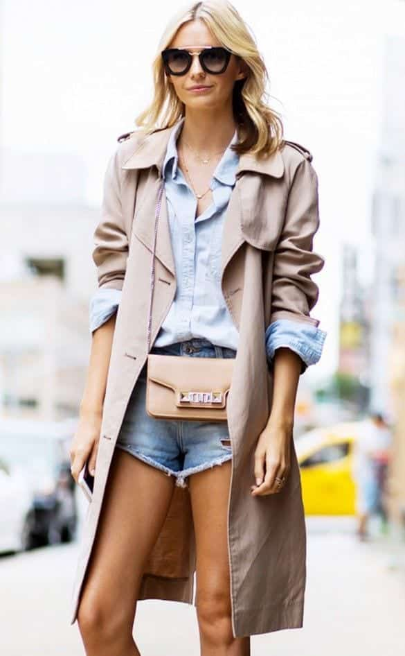 7 Trench Coat Outfits Styles-16 Chic Ways to Wear Trench Coat