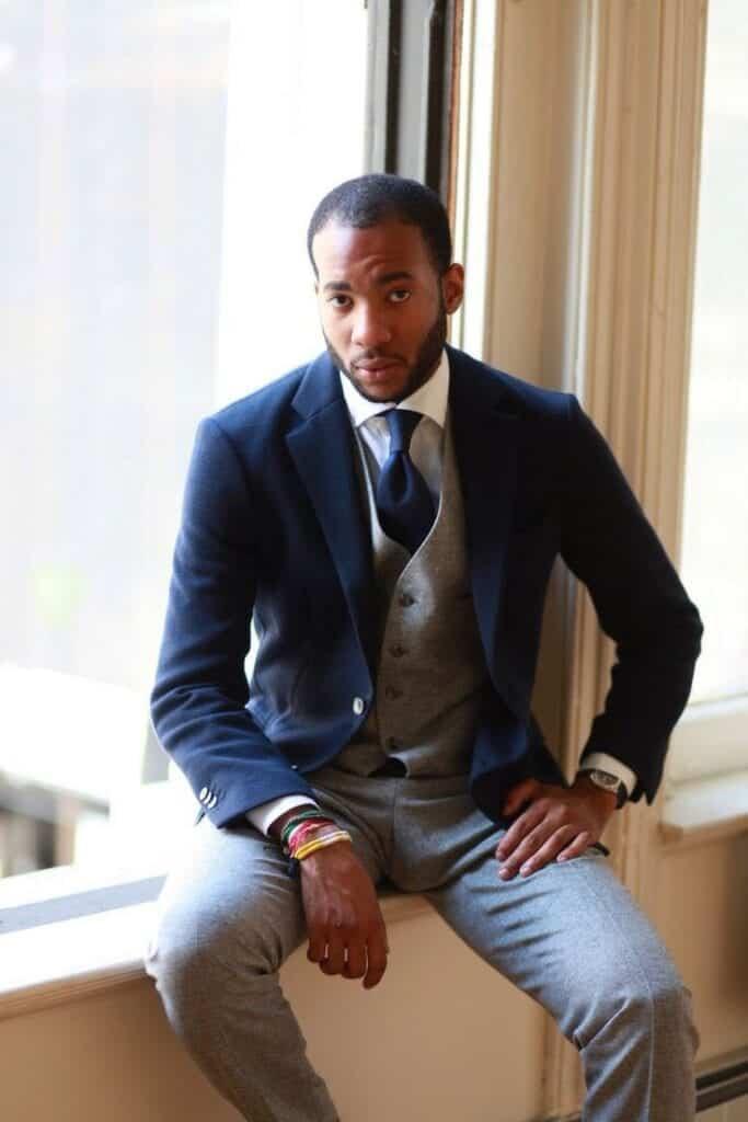 8f6ee7361197dbdb53186177f9f83f51-683x1024 Men Waistcoat Styles -18 Ways to Wear Waistcoat for Classy Look