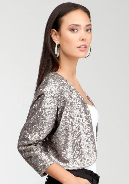 bebe-pewter-sequin-soft-crop-jacket-product-3-6723848-663286070_large_flex Sequins Wardrobe Essentials-16 Ways to Wear Sequin Outfits