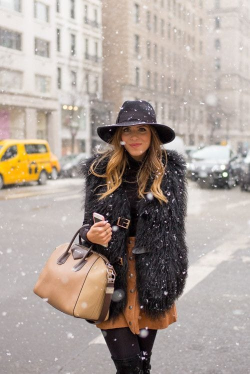 09cc51147c0bdc40bbcd4dda0e7d466c Cute Seude Skirt Outfits-17 Ways to Wear Seude Skirts