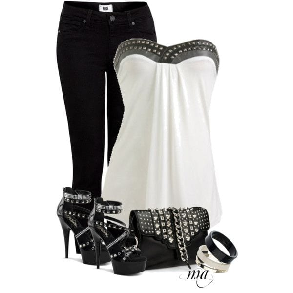 1 Studded Clothing-10 Ways to Dress up with Studded Outfits