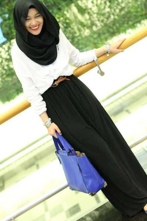 131 20 Best Hijab Styles for Short Height Girls to Look Tall