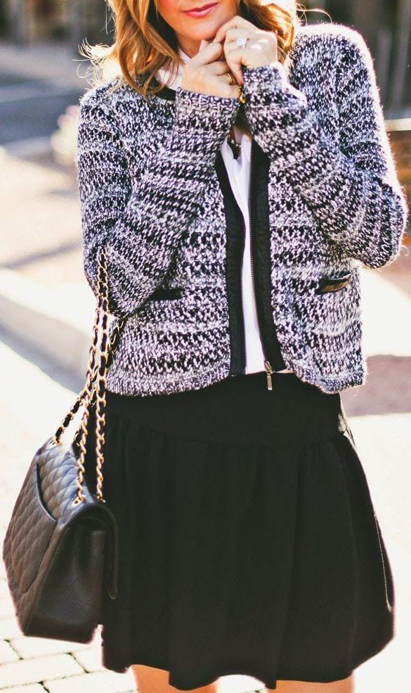 15-winter-preppy-outfit-ideas-for-women-14 Preppy Winter Outfits-15 Cute Winter Preppy Dressing Ideas