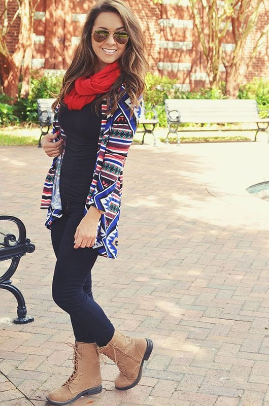 15 winter preppy outfit ideas for women 4