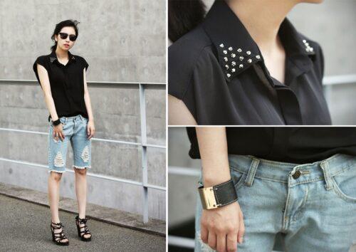 2421683_dsg-500x354 Boyfriend Shorts Outfits-16 Ways to Wear Boyfriend Shorts