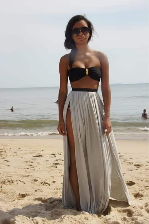 42 18 Perfect Beach Outfits for Black Girls this Summer