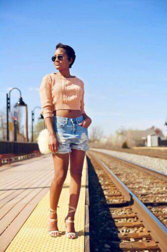 5f59d338afb6cfa0c0426230d2522238-333x500 Boyfriend Shorts Outfits-16 Ways to Wear Boyfriend Shorts