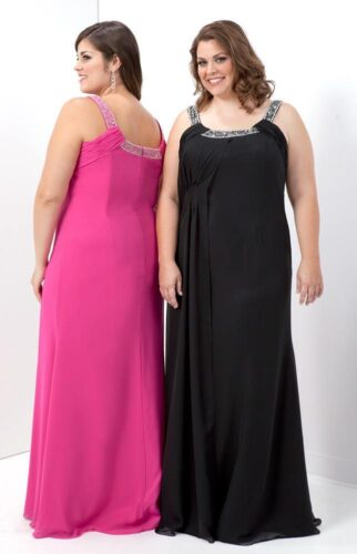 Cute-Plus-size-evening-wear-322x500 Women All Black Outfits - 20 Chic Ways to Wear All Black