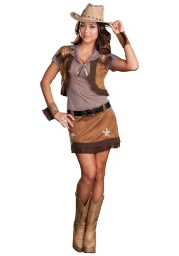 DIY-Halloween-Costume-for-Adults-9-350x500 Cowgirl Outfits - 25 Ideas on How to Dress Like Cowgirl