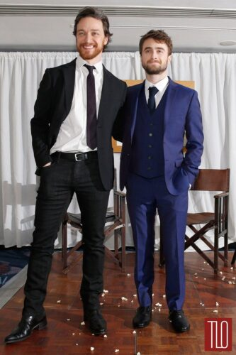 James-McAvoy-Daniel-Radcliffe-2015-Jameson-Awards-Tom-Lorenzo-Site-TLO-1-1-333x500 Short Height Guys Fashion-20 Outfits for Short Men to Look Tall