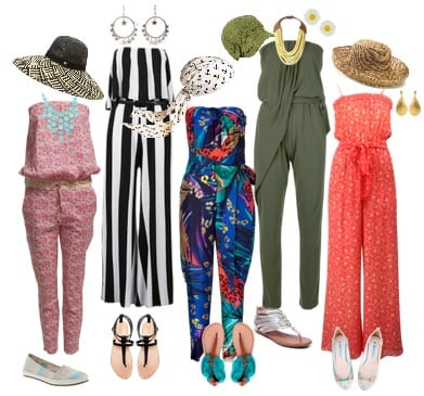 Jumpsuits Beach Hijab Outfits–34 Modest Beach Dresses for Muslim Girls
