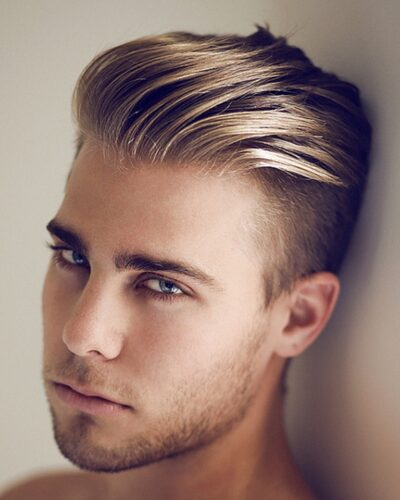 Slicked-Back-Undercut-Hairstyle-Men-400x500 Hipster Men Hairstyles - 25 Hairstyles for Hipster Men Look