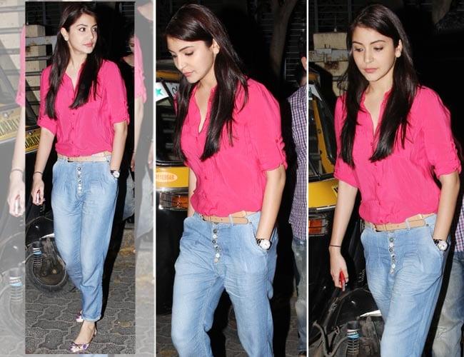 anushka 19 Indian Actresses Street Style Fashion Ideas this Season