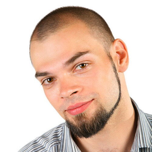 dac0b54c75b37882492e6751c224285d-500x500 Goatee Styles-50 Popular Goatee Beard Styles for Different Face Types
