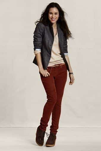 Brilliant What You Wear With Corduroy Pants Is A Matter  Be Added To The Outfit A Casual Pair Of Suede Shoes Pair Well With Corduroy Pants Cotton Sweaters That Button Or Zip Up The Front Look Nice With Drawstring Corduroy Pants Womens