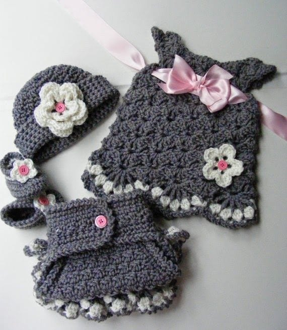 ea1254933c4cfc5832a38753f8804315 Crochet Outfits for Babies-20 Newborn Crochet Outfits Patterns