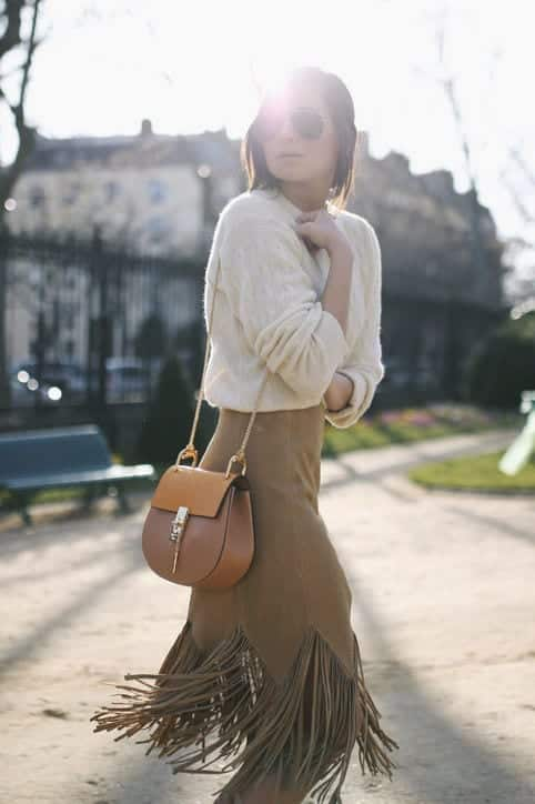 fall-fashion-suede-skirt-we-wore-what-h724 Cute Seude Skirt Outfits-17 Ways to Wear Seude Skirts