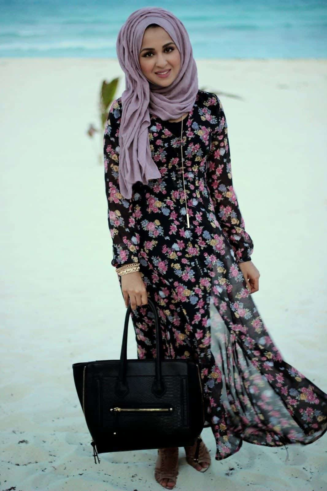 Beach Hijab Outfitsu201334 Modest Beach Dresses For Muslim Girls