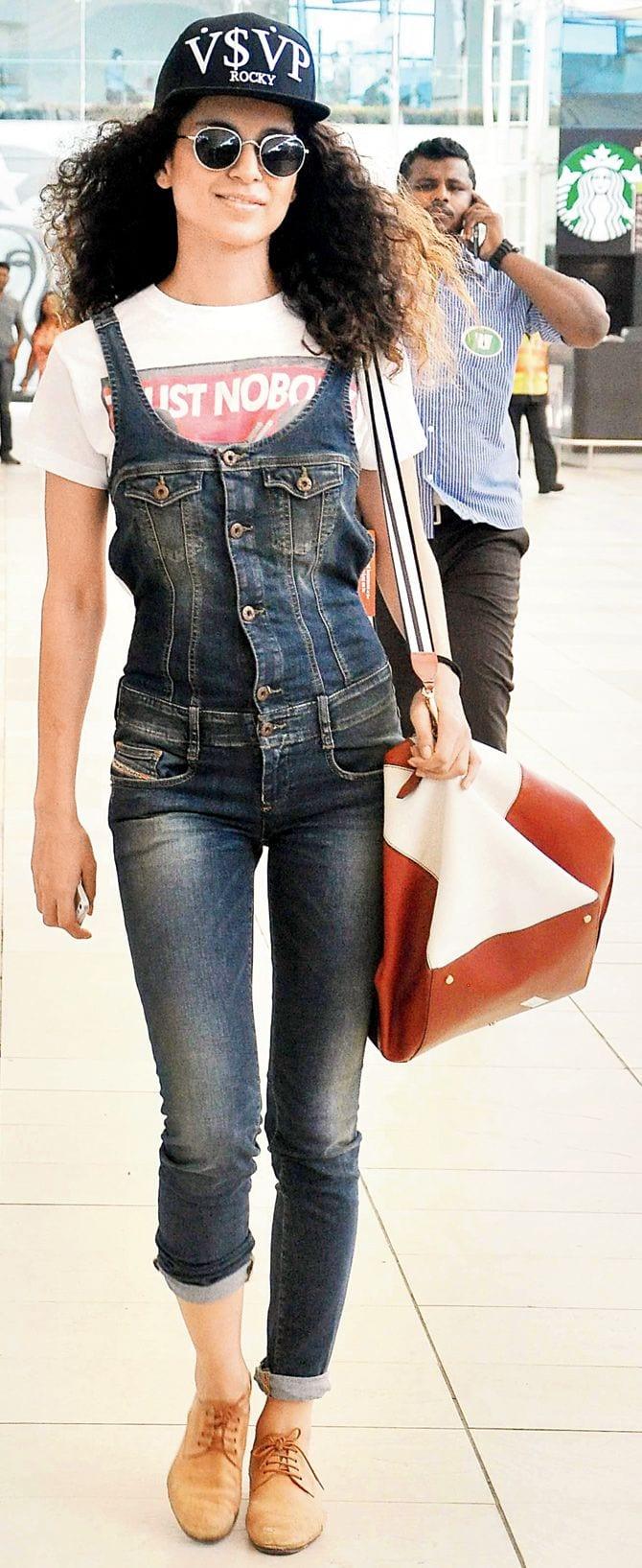 kangna 19 Indian Actresses Street Style Fashion Ideas this Season