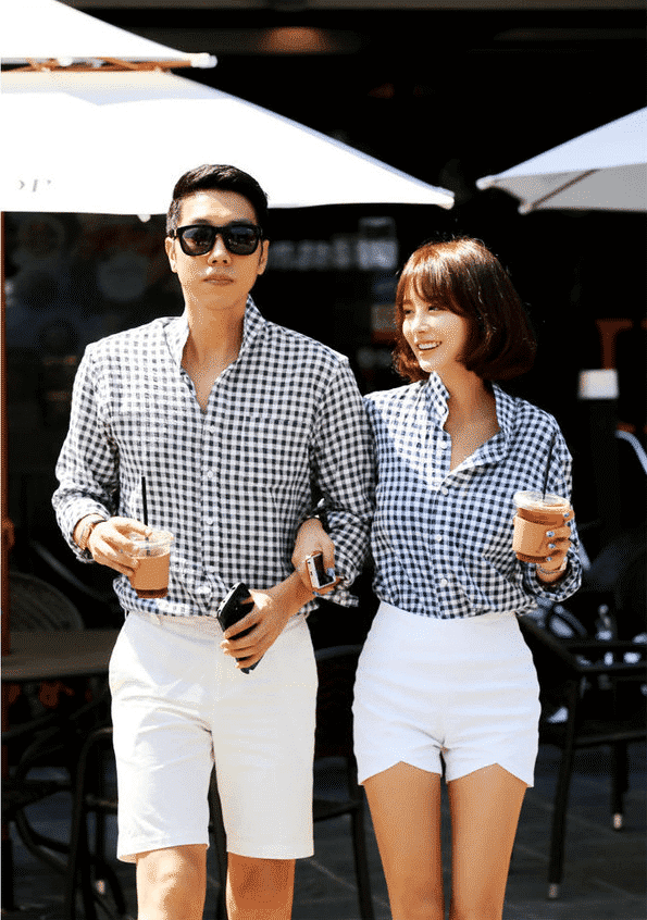 matching-3 18 Best Check Shirt Outfit Combinations for Girls in All Seasons