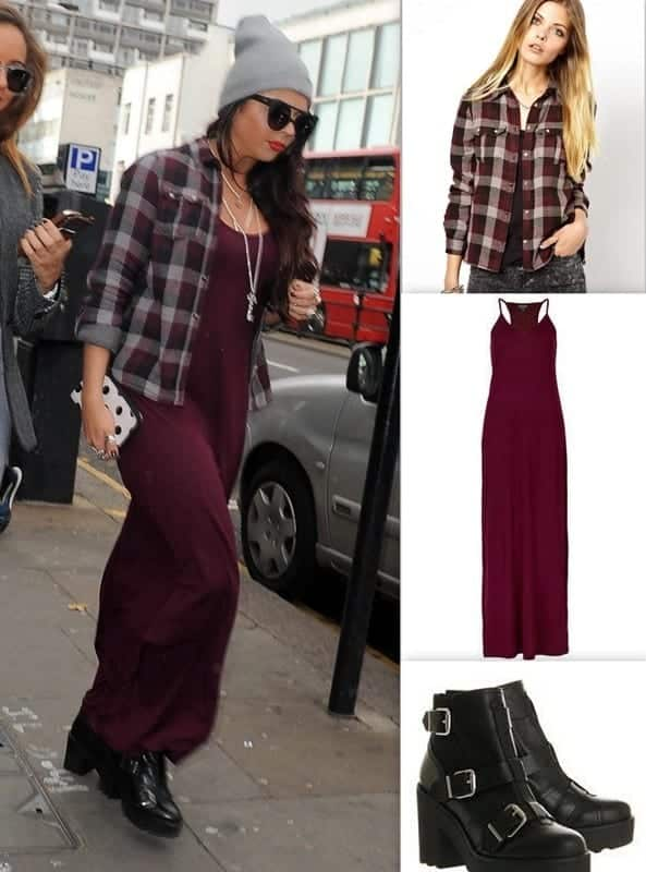 maxi-dress1 18 Best Check Shirt Outfit Combinations for Girls in All Seasons