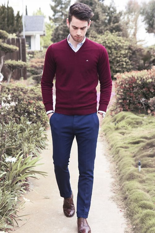 Mens Pullover Dress Shirts