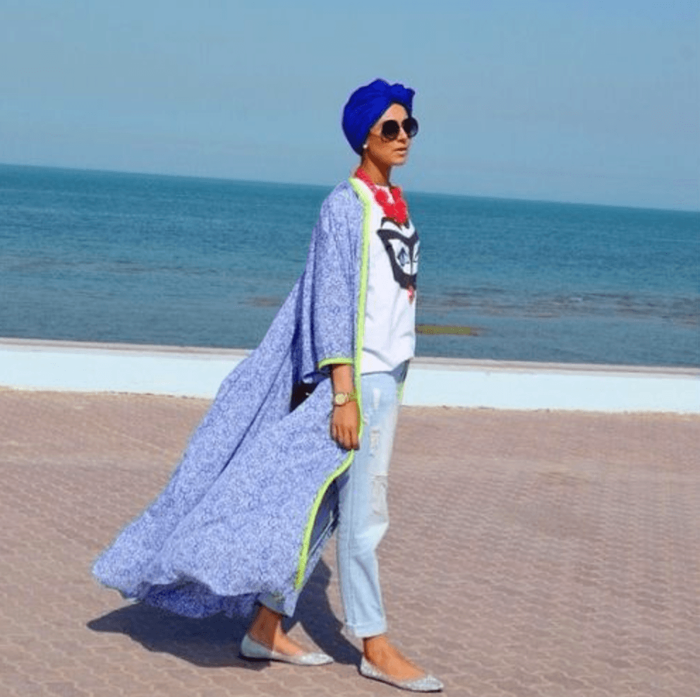 modest-beach-wear Beach Hijab Outfits–34 Modest Beach Dresses for Muslim Girls