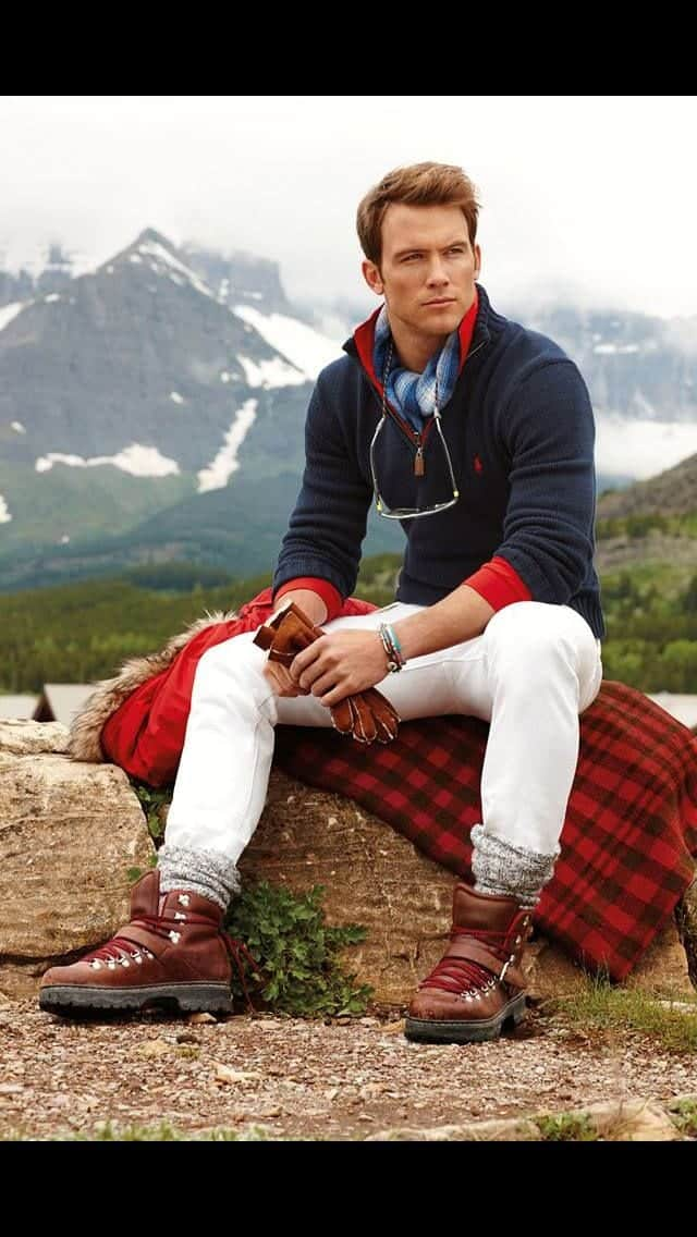 preppy winter outfits for men 13