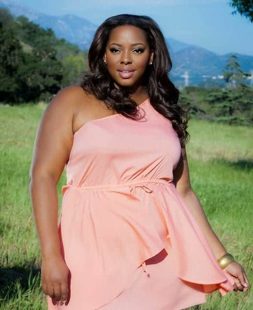 samantha African Curvy Women-15 Fashionable African Plus Size Models
