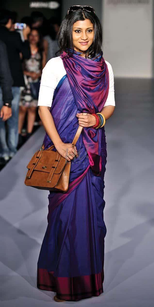 saree 19 Indian Actresses Street Style Fashion Ideas this Season