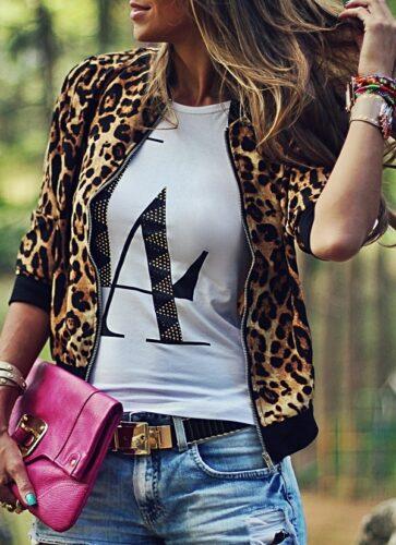 t-shirt-e-bomber-jacket1-363x500 Boyfriend Shorts Outfits-16 Ways to Wear Boyfriend Shorts