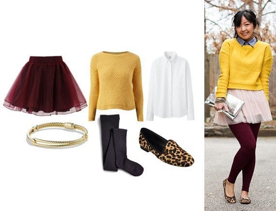 tights Lulu Skirt Outfits-22 Ways How to Wear Lulu Skirts Fashionably