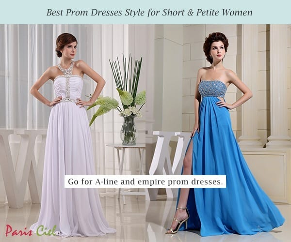 1a-Prom-Dress-for-Short-Petite-Women 17 Cute College Outfits for Short Height Girls to Look Tall